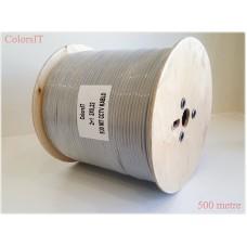 ColorsIT 500m 2+1 CCTV Kablo (2x0.22 - %99 Bakır)