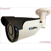 ColorsIT CTAHD01-B1348B 1.3MP, 960P/720P, 48 LED, 3.6mm, Bullet Metal AHD Güvenlik Kamerası