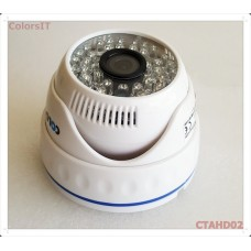 ColorsIT CTAHD02-D1348B 1.3MP, 960P/720P, 48 LED, 3.6mm, Dome AHD Güvenlik Kamerası