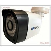 ColorsIT CTAHD03-B1336B 1.3MP, 960P/720P, 36 LED, 3.6mm, Bullet AHD Güvenlik Kamerası