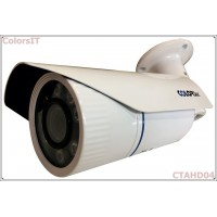 ColorsIT CTAHD04-B1308B 1.3MP, 960P/720P, 8 LED, 3.6mm, Bullet Metal AHD Güvenlik Kamerası