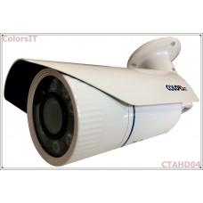 ColorsIT CTAHD04-B1308B 1.3MP, 960P/720P, 8 LED, 3.6mm, Bullet Metal AHD Güvenlik Kamerası