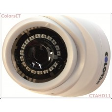 ColorsIT CTAHD11-D1018A 1.0MP, 720P/960H, 18 LED, 2.8mm Dome AHD Güvenlik Kamerası