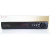 ColorsIT CT07-0404H - 4 Kanal Video 4 Kanal Audio, Hydrid (AHD, Anolog, IP), 720HD Kayıt, 1080P TVI, 6 TB HDD Destekli AHD Video Kayıt Cihazı - DVR