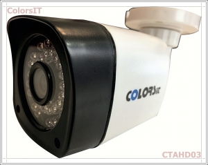 ColorsIT CTAHD03-B1336B 1.3MP, 960P/720P, 36 LED, 3.6mm, Bullet AHD Güvenlik Kamerası