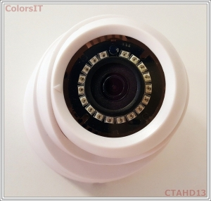 ColorsIT CTAHD13-D2018B 2.0MP, 1080P/960P, 18 LED, 3.6mm Dome AHD Güvenlik Kamerası